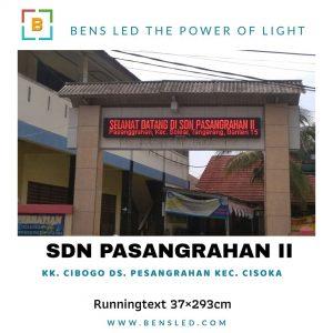 Running Text - SDN PASANGRAHAN 2 - Tangerang